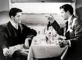 Cena de extraños en un tren de patricia Highsmith