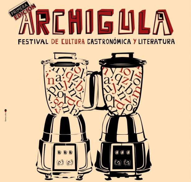 Festival Archigula Literatura y Gastronomía El chef ha muerto