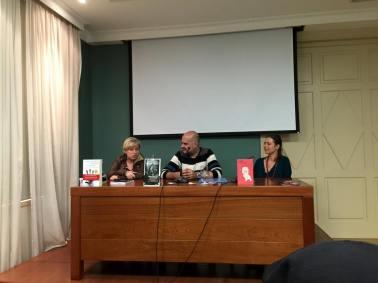 Nieves Abarca y Yanet Acosta entrevistadas por Xavier Borrell