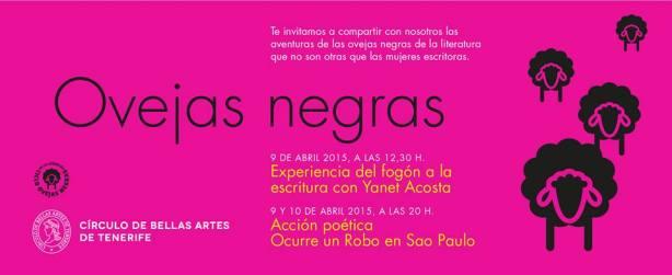 Cocinando Noches sin sexo. Yanet Acosta. Círculo de Bellas Artes. Tenerife