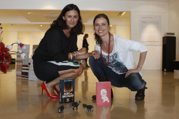 Dulce Xerach y Yanet Acosta en el ciclo Ovejas Negras del Círculo de Bellas Artes de Tenerife. Foto Ariadna Acosta
