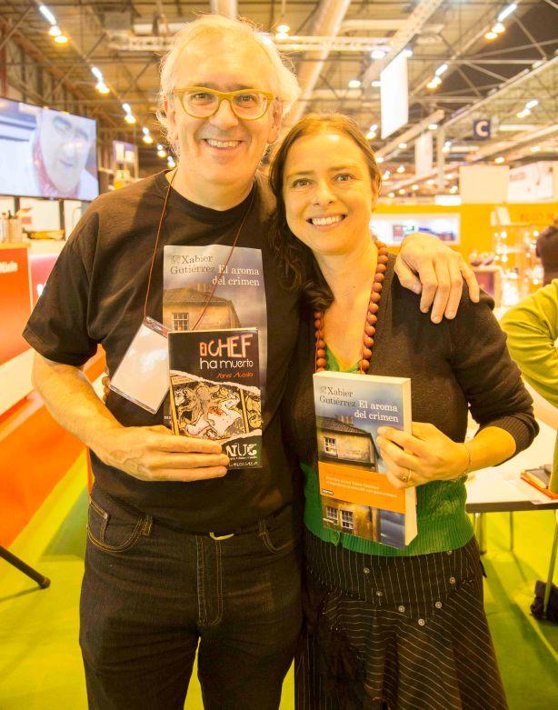Xabi Gutiérrez y Yanet Acosta. Foto: Jorge Gutiérrez Narro